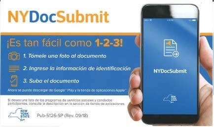 NY Doc Submit Spanish