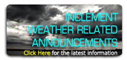 Inclement weather warnings