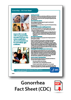 Gonorrhea Fact Sheet