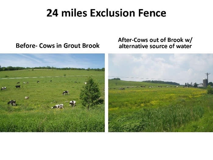 24 miles exclusion fence
