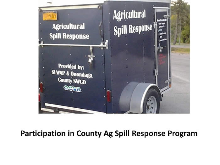 Participation in Ag Spill Response Program