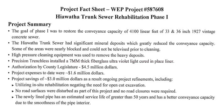 Fact Sheet WEP Project 587608