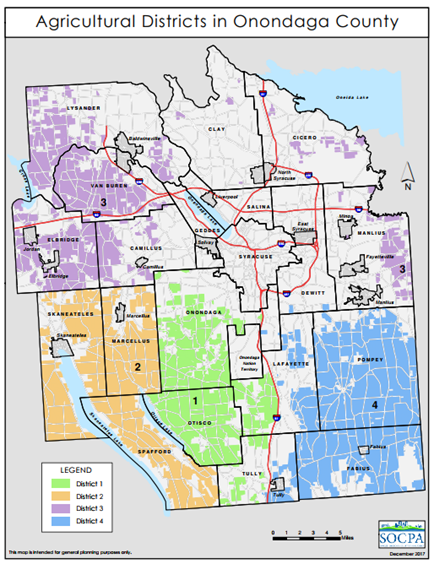 Onondaga County Agricultural Districts