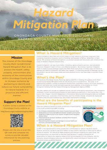 Hazard Mitigation Plan Brochure