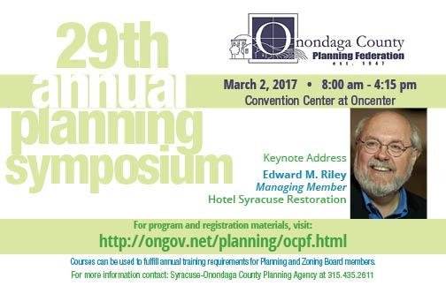 2017 Annual Planning Symposium