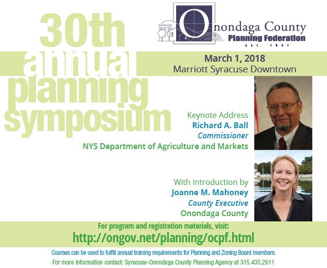 2018 Annual Planning Symposium Postcard