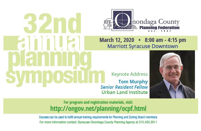 32nd Annual Planning Symposium postcard