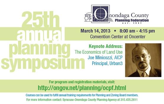 2013 Annual Planning Symposium