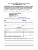 Agricultural District Enrollment Form