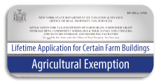 Agricultural Exemption