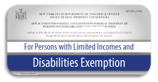 Disability Exemption