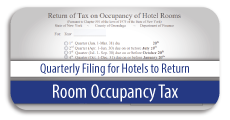 Room Occupancy Tax Form