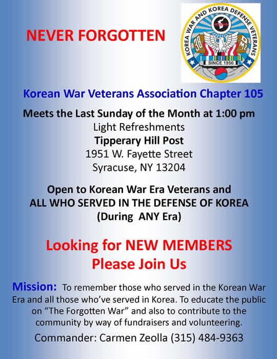 Korean Vets Flyer