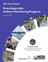Onondaga Lake Progress Report 2016