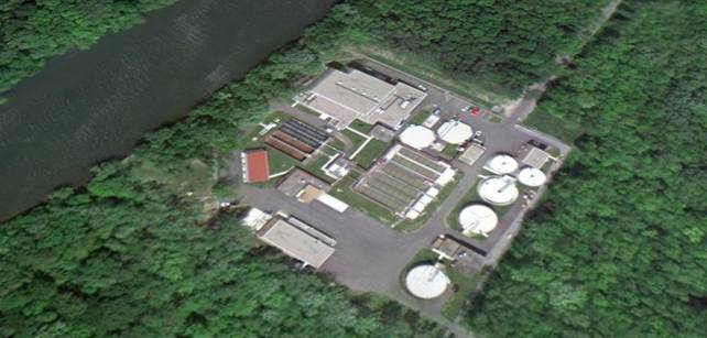 Wetzel Road WWTP Aerial Photo